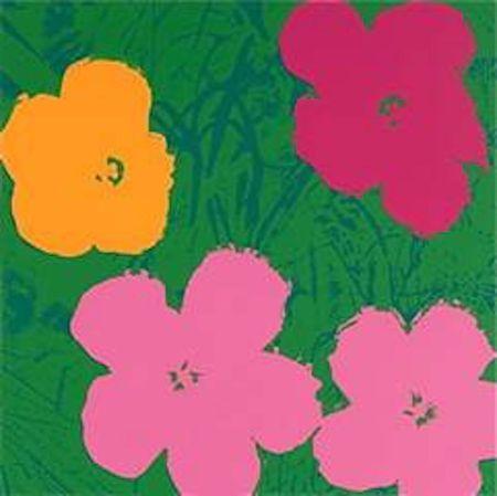 Сериграфия Warhol (After) - Flowers V