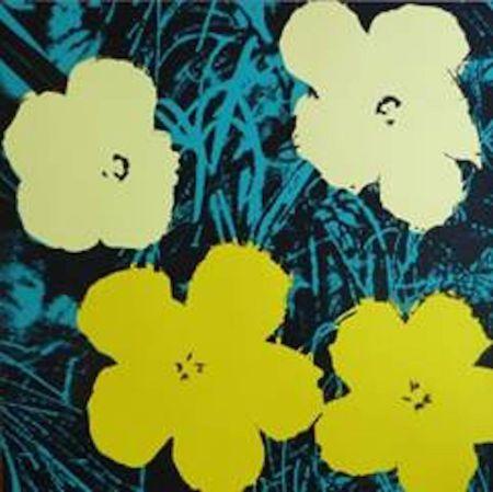 Сериграфия Warhol (After) - Flowers Vii
