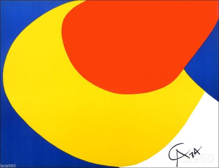 Литография Calder - Flying Colors I