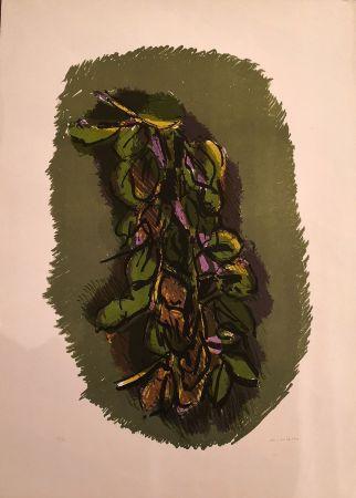 Литография Morlotti - Foglie