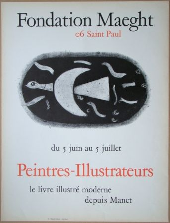 Литография Braque - Fondation Maeght