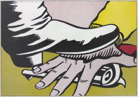 Литография Lichtenstein - FOOT AND HAND