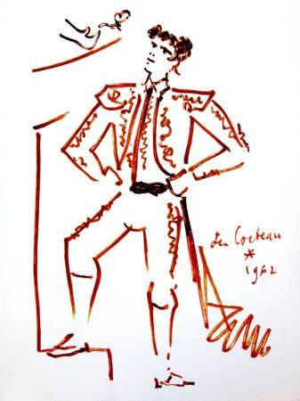 Литография Cocteau - Force