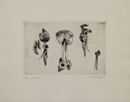 Гравюра Hadzi - Form Studies