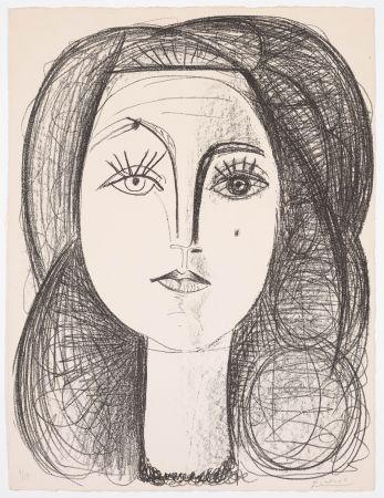Литография Picasso - Françoise 1946