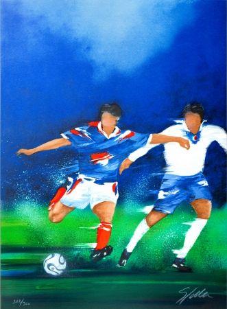 Литография Spahn - France '98