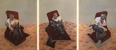 Литография Bacon - Francis Bacon - Portrait Of Lucien Freud 1966