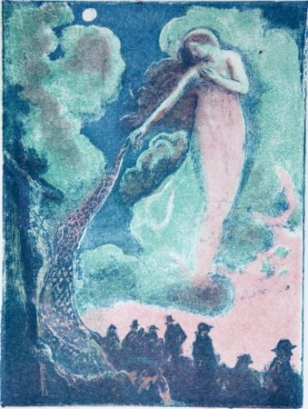 Иллюстрированная Книга Denis - Francis Thompson.  Poèmes.
