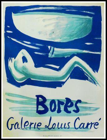 Афиша Bores - FRANCISCO BORES - GALERIE LOUIS CARRÉ