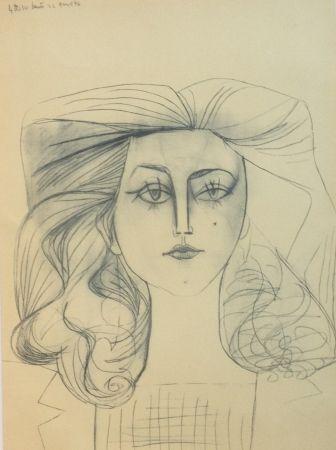 Литография Picasso - Francoise Gilot 1