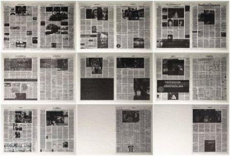 Литография Kassay - Frankfurter Allgemeine