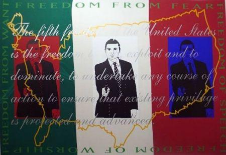 Сериграфия Martinez - Freedom  from Fear