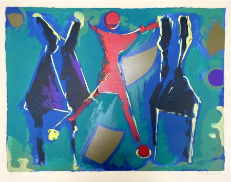 Литография Marini - From Color to Form VII