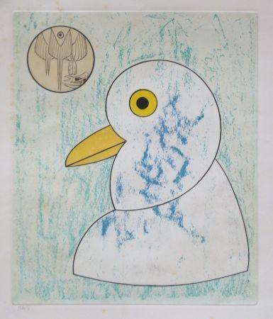 Офорт И Аквитанта Ernst - From oiseaux en peril