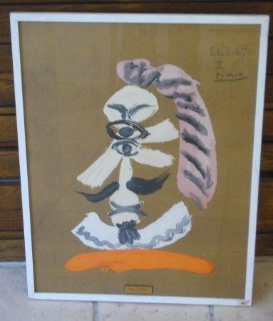 Литография Picasso - From portraits imaginaires