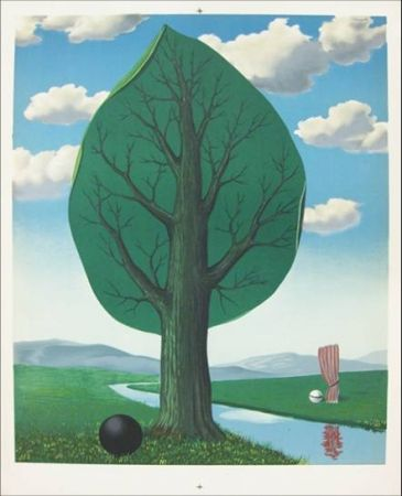 Литография Magritte -  From the painting