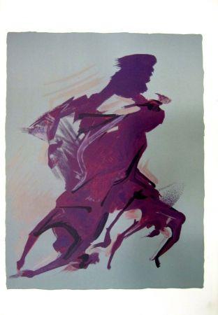 Литография Siqueiros - From the Prison Fantasy Series