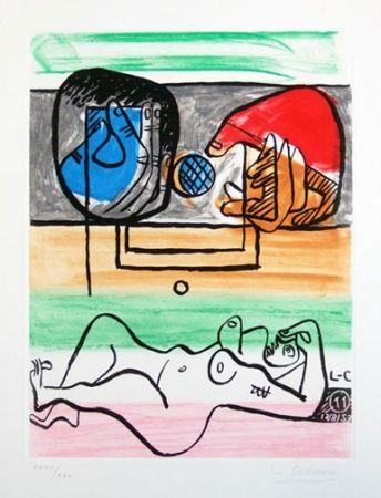 Офорт И Аквитанта Le Corbusier - From Unite Suite #11a