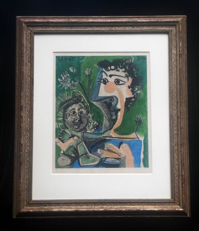 Литография Picasso (After) - Fronciuse and Cloude