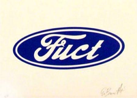 Сериграфия Burnetti - Fuct