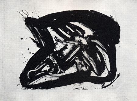 Литография Kounellis - Fumo di pietra IX