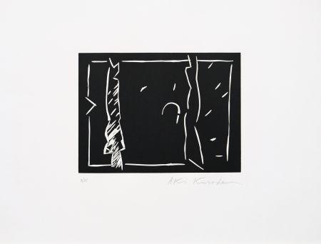 Линогравюра Kuroda - Futur antérieur II