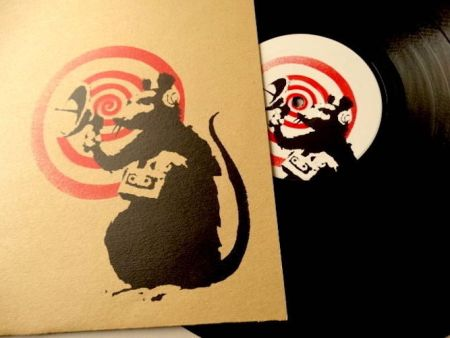 Гашение Banksy - Future (Brown version)