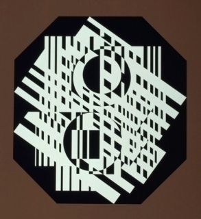 Сериграфия Vasarely - G-Linn
