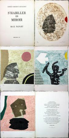 Иллюстрированная Книга Papart - G. Ribement Dessaigne : S 'HABILLER EN MIROIR (1977)