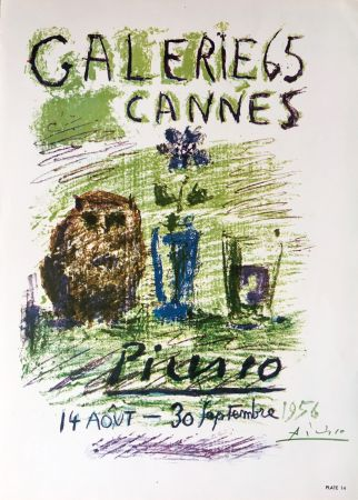 Литография Picasso - Galerie 65 Book Plate (Hand Signed)