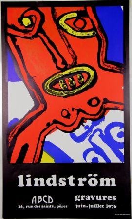 Литография Lindstrom - Galerie ABCD