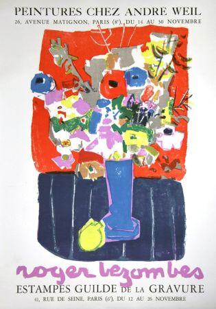 Литография Bezombes - Galerie André Weil