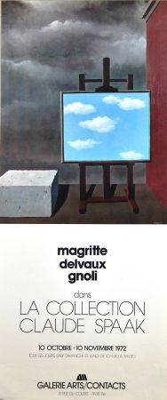 Гашение Magritte - Galerie Arts Contacts La Collection de Claude Spaak