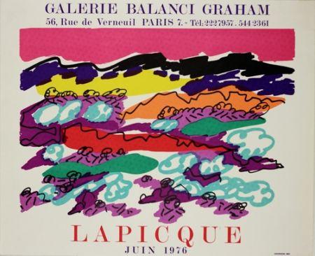 Литография Lapicque - Galerie Balanci Grahan