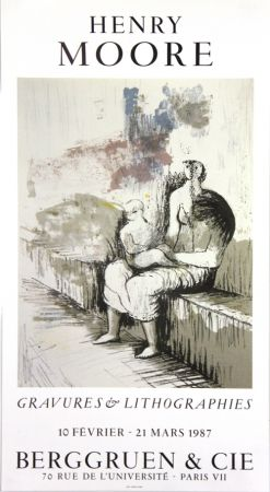 Гашение Moore - Galerie Berggruen