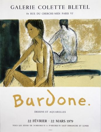 Литография Bardone - Galerie Colette Bletel