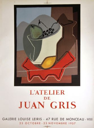 Литография Gris  - Galerie Louise Leiris