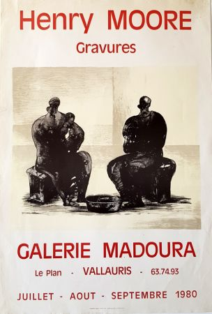 Гашение Moore - Galerie Madoura  Vallauris