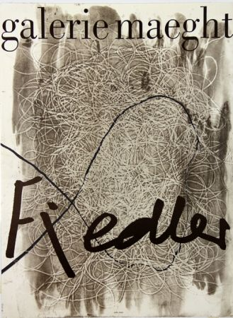 Литография Fiedler - Galerie Maeght
