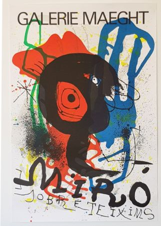 Литография Miró - Galerie Maeght