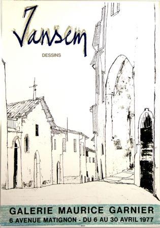 Литография Jansem - Galerie Maurice Garnier