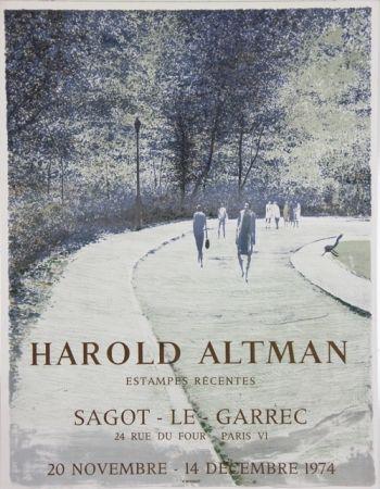 Литография Altman - Galerie Sagot Le Garrec