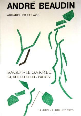 Литография Beaudin - Galerie Sagot le Garrec