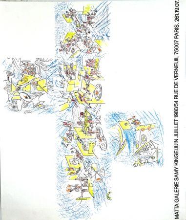 Литография Matta - Galerie Samy Kinge