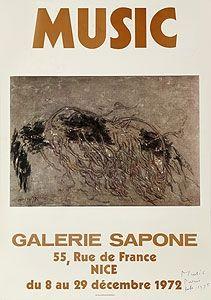 Гашение Music - Galerie Sapone, Nice