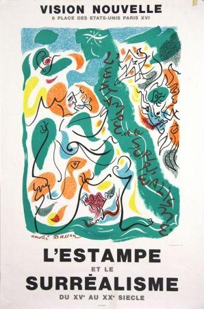 Литография Masson - Galerie Vision Nouvelle