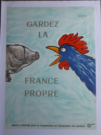 Афиша Savignac - Gardez la France propre