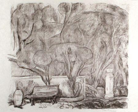 Литография Purrmann - Garten in Levanto