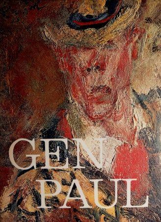 Иллюстрированная Книга Paul  - GEN PAUL par/by Pierre Davaine - Preface Dr J.Miller - Signature & envoi de Gen Paul / Hand-Signed and personal note from Gen Paul