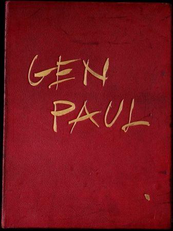 Иллюстрированная Книга Paul  - GEN PAUL par/by Pierre Davaine,Preface Dr J.Miller - 1974